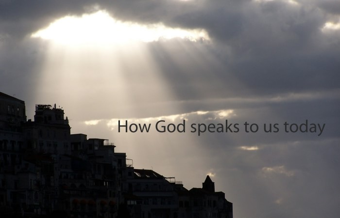 How God speaks to his disciples today