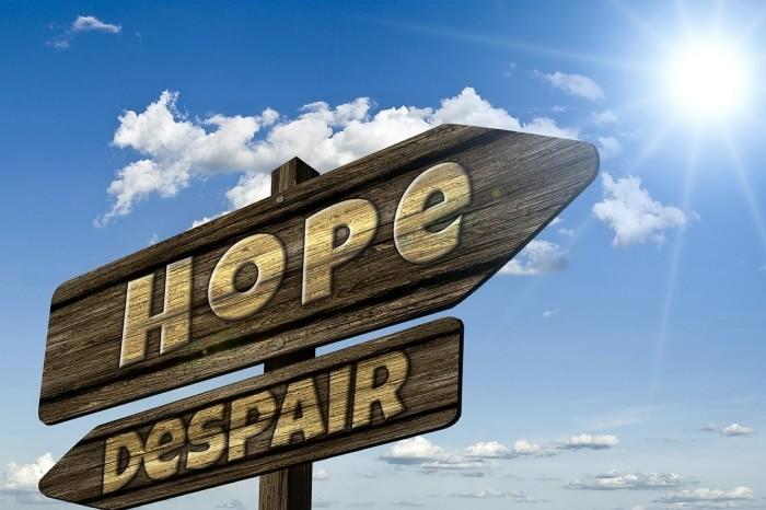 Why hope is essential - despair eternal life