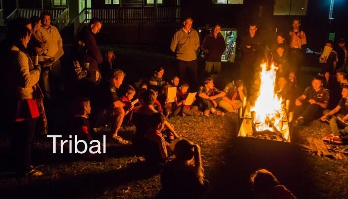 Tribal spiritual community