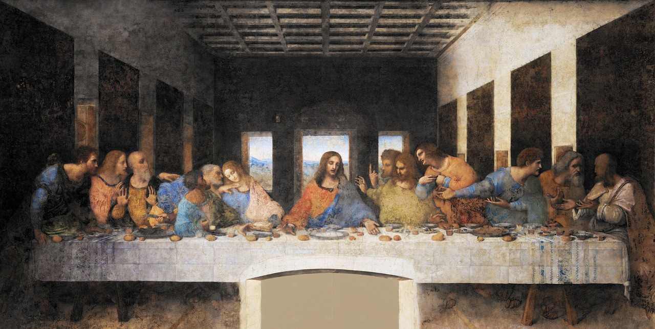 The Last Supper- Jesus and his disciples