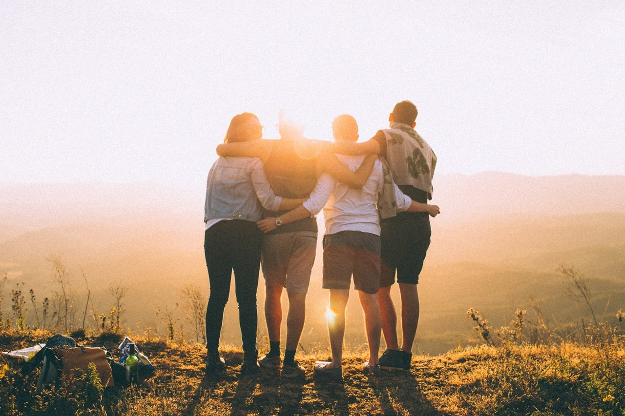 How to be Salt and Light - four friends strengthening each other and bringing light into the darkness
